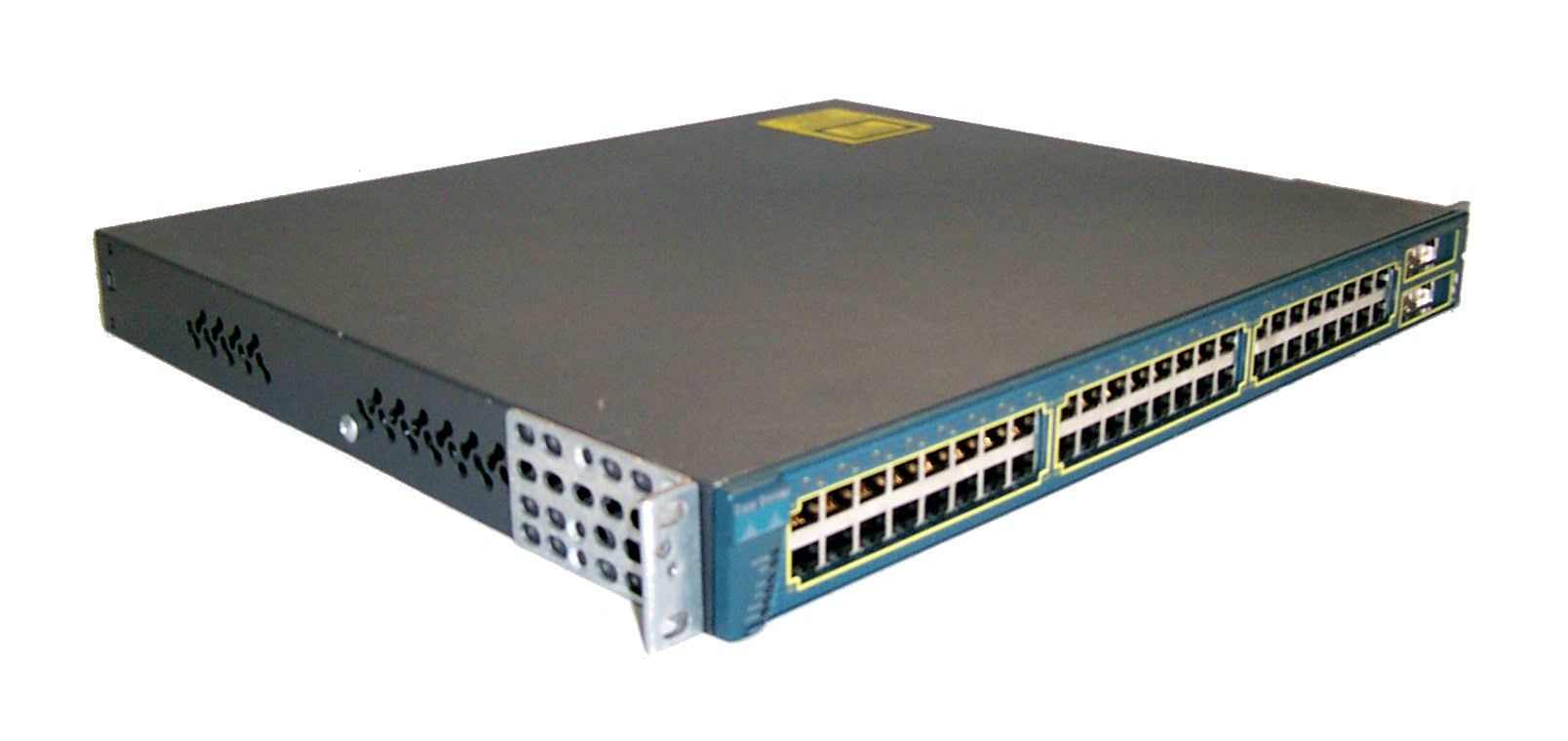 Cisco Catalyst (WS-C3548-XL-EN) 48-Ports Rack Mountable Switch Managed stackable